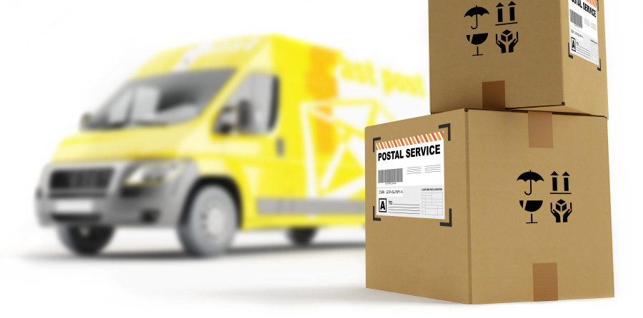 International courier forwarding large parcels worldwide