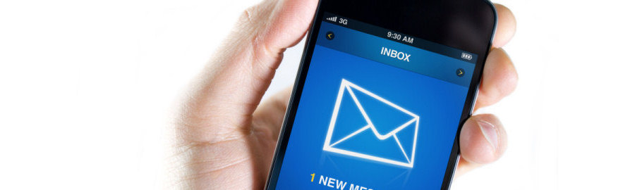 Mailbox account alerts by SMS